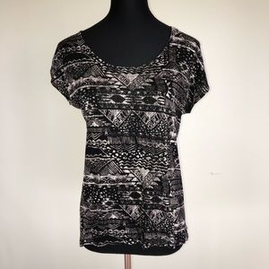 Nordstrom Graphic Top size S